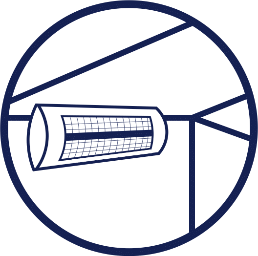 Awning Heater Icon