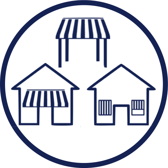 Types of Awning Icon