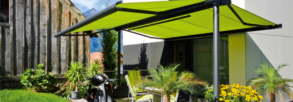 Syncra Flex Freestanding Awning