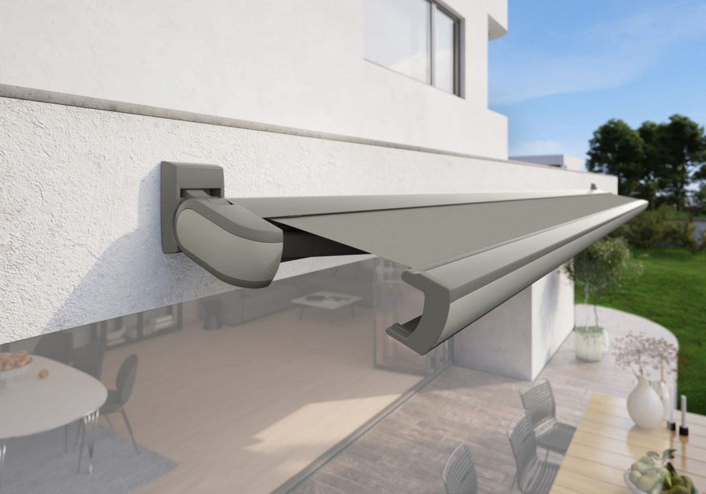 Markilux MX 3 Patio Awning Agate Grey Panel