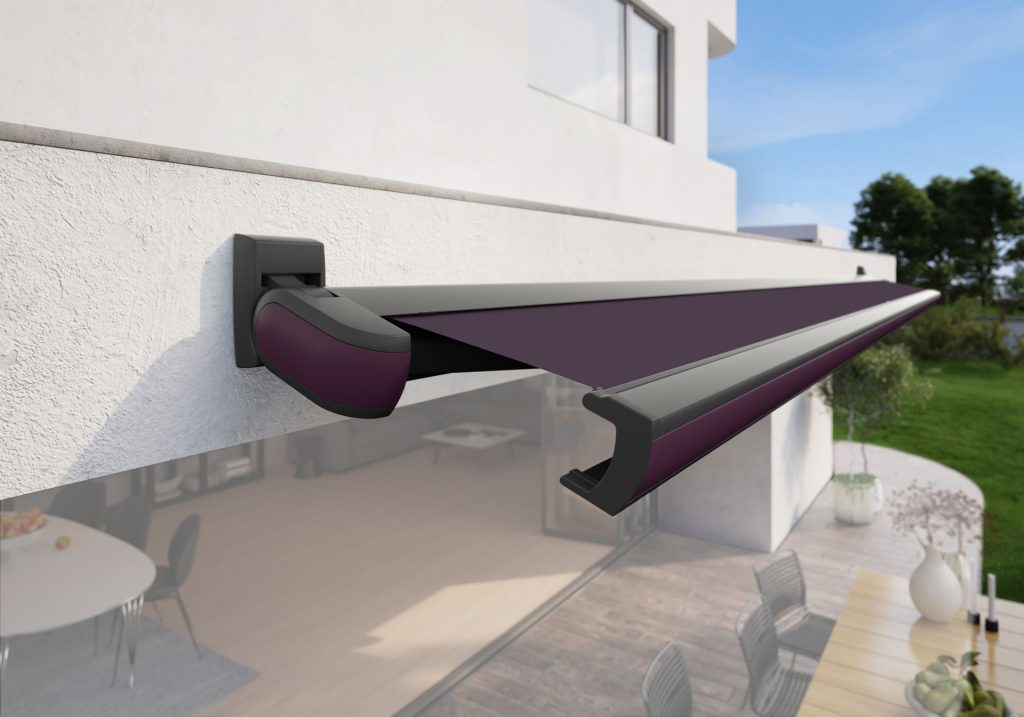 Markilux MX 3 Patio Awning Purple Violet Panel