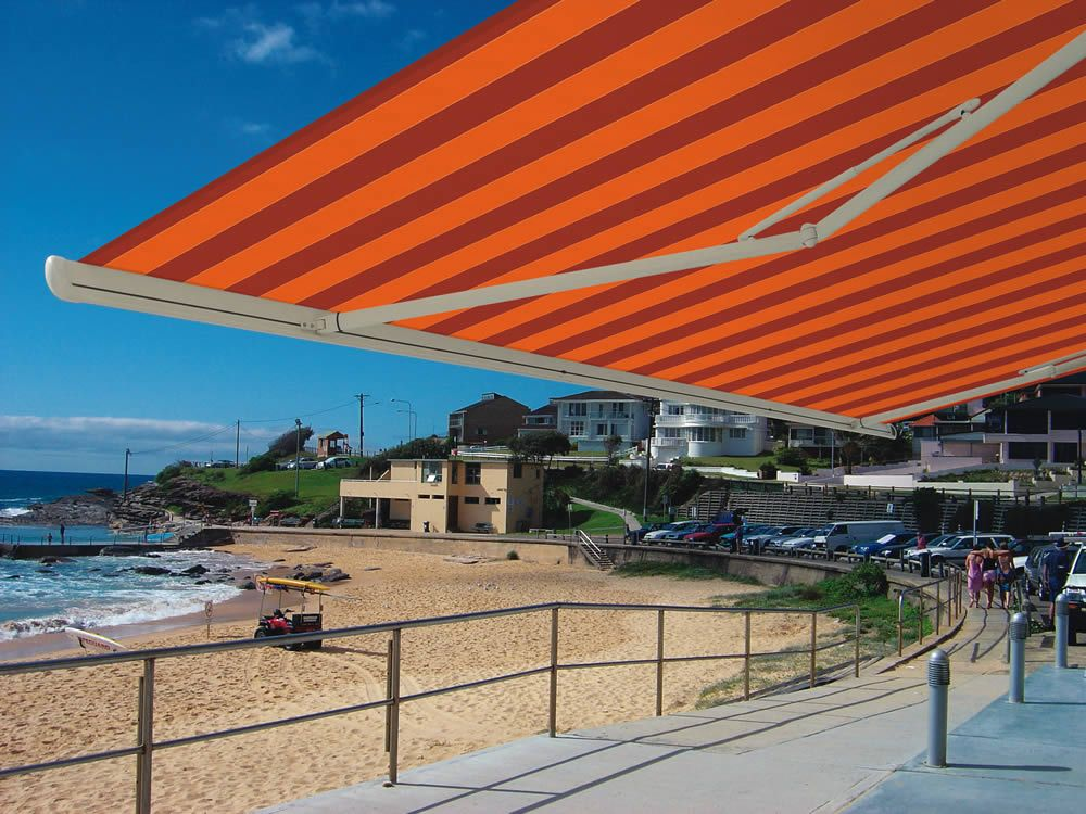 Markilux 1500 Awning Striped