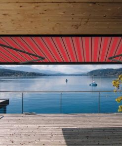 Markilux 1600 Awning Red