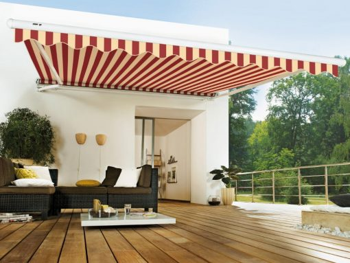 Markilux 1600 Stretch Roof Terrace