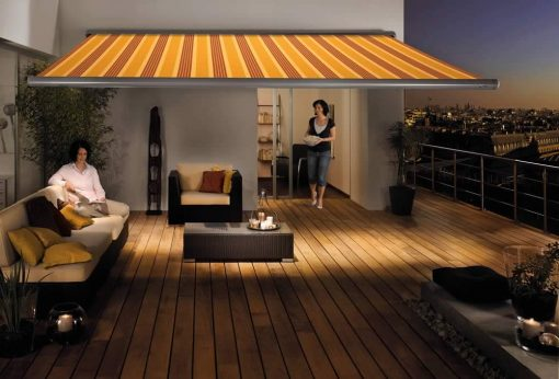 Markilux 1650 Awning Integrated Lighting