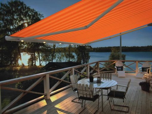 Markilux 1650 Awning on Patio