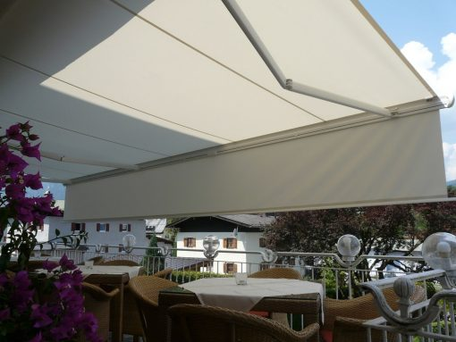 Markilux 1650 Patio Awning with Shadeplus