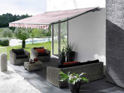 Markilux 1710 Garden Awning with Scalloped Valance