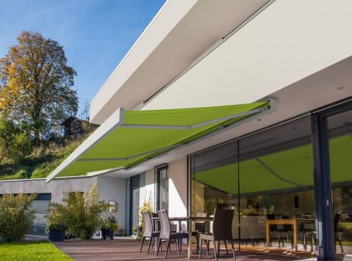 Markilux 3300 Awning Green Fabric