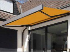 Markilux 3300 Patio Awning Yellow Fabric