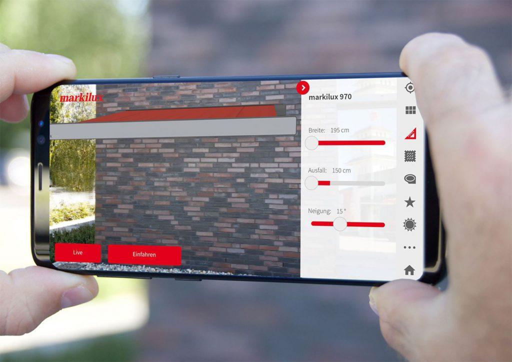Markilux 3D App