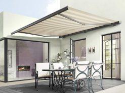 Markilux 5010 Awning Modern Striped Fabric