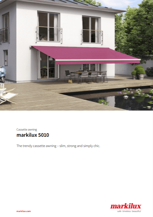 Markilux 5010 Sales Manual Cover