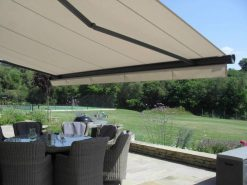 Markilux 6000 Awning Over Seating Area