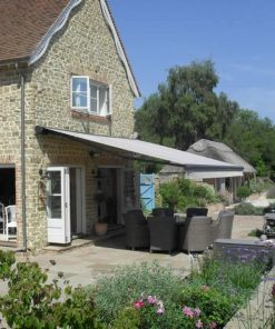 Markilux 6000 Awning on Country Home