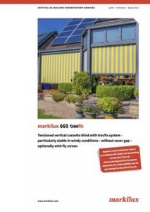 Markilux 660 Brochure Cover