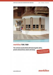 Markilux 710 810 Manual Cover