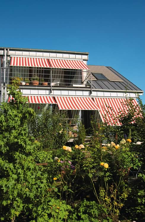 Markilux 730 Awnings on Balconies