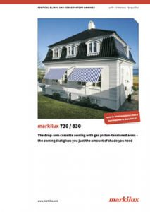Markilux 730 / 830 Manual Cover