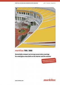 Markilux 780-880 Manual Cover