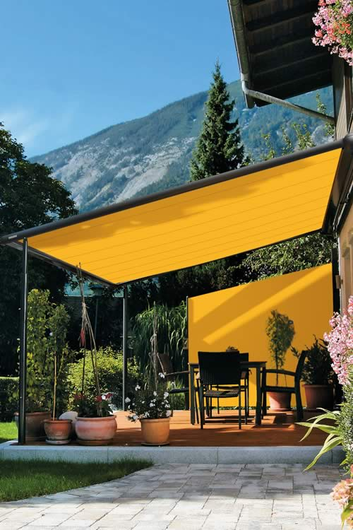 Markilux 790 Vertical Awnings Side Blinds Roch 233 Awnings