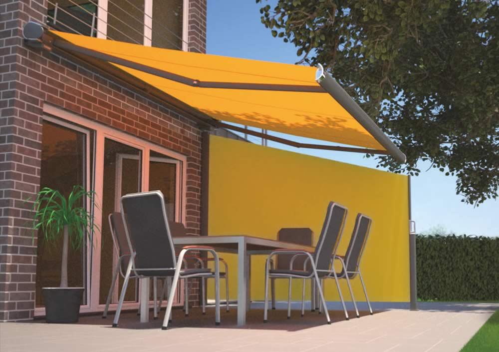 Markilux 790 Side Awning On Patio