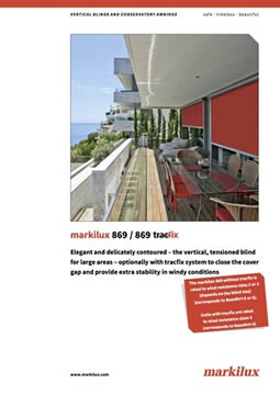 Markilux 869 Manual Cover