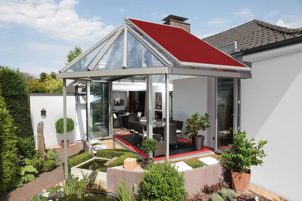 Markilux 8800 Conservatory Glass Extension Awnings