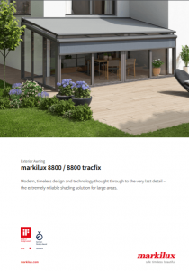 Markilux 8800 Sales Manual Cover