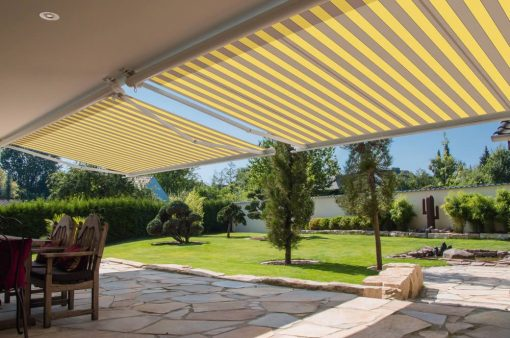 Two Markilux 990 Awnings