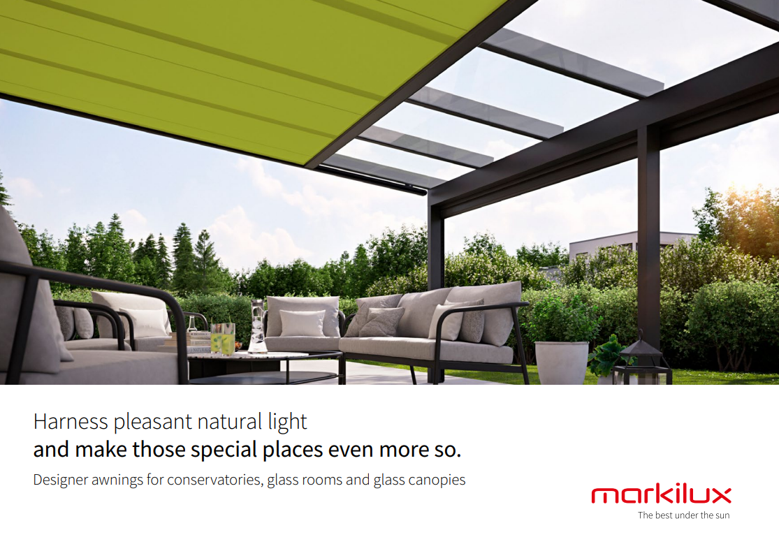 Markilux Conservatory Awning Brochure