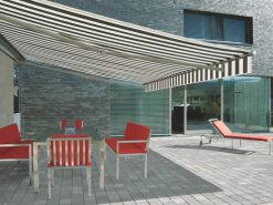 Markilux ES-1 Striped Awning