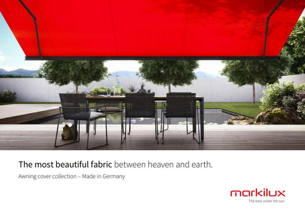 Markilux Fabric Brochure
