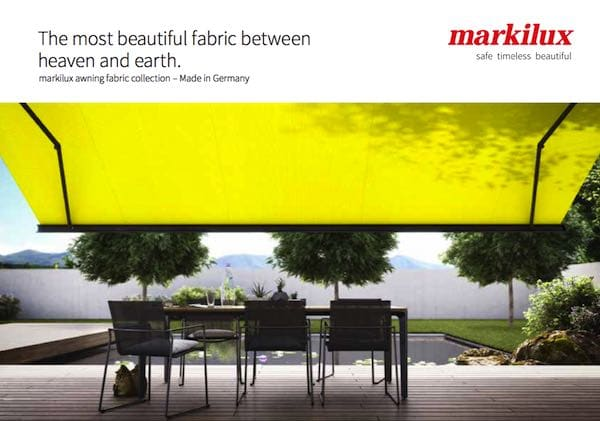 Markilux Fabric Brochure Cover