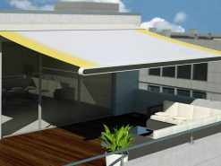 Markilux MX-1 Awning on Roof Terrace