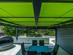 Markilux Markant Freestanding Awning In Home Inside