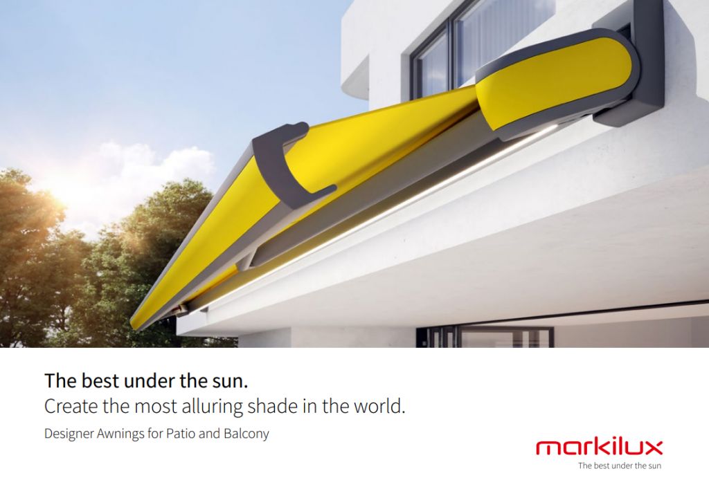 Markilux Patio Awning Brochure