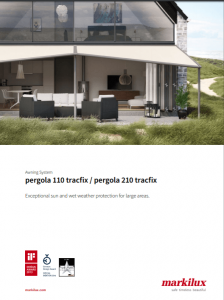 Markilux Pergola 110 Sales Manual Cover