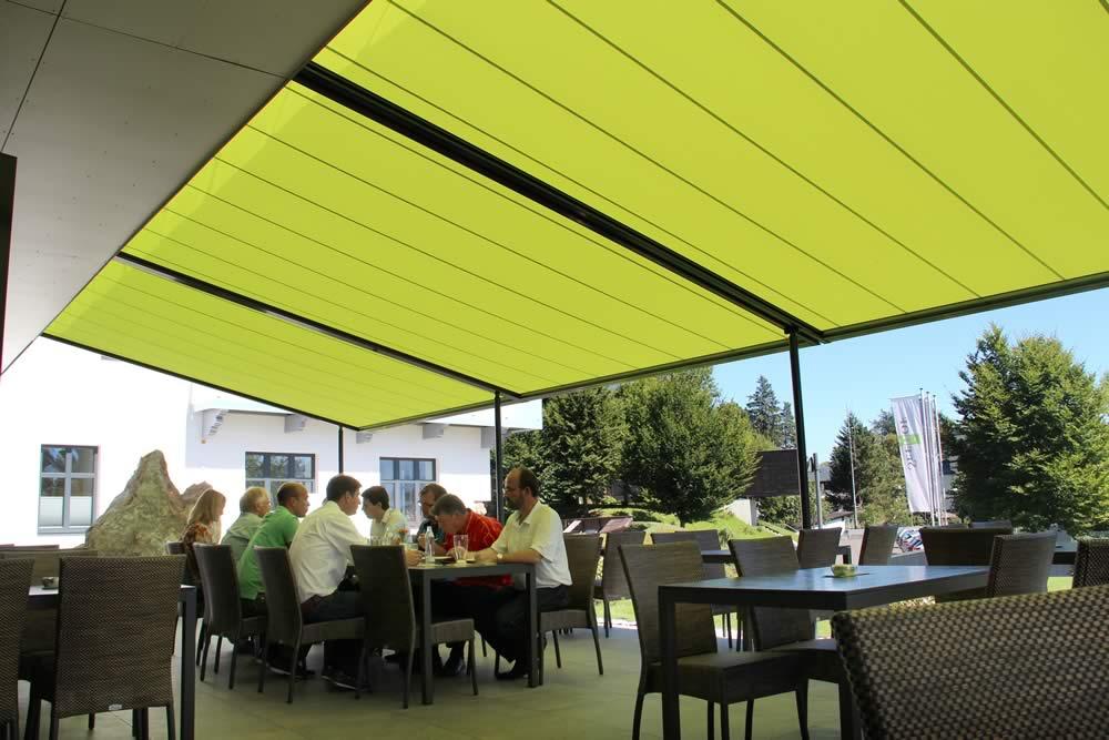 Markilux Pergola Awning Restaurant