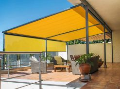 Markilux Pergola Awning on Roof Terrace