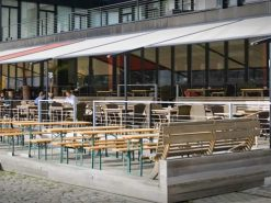 Markilux Pergola Awning Comercial Application