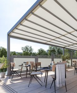 Markilux Pergola Stretch Awning in the Daytime