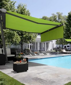 Two Markilux Planet Awnings