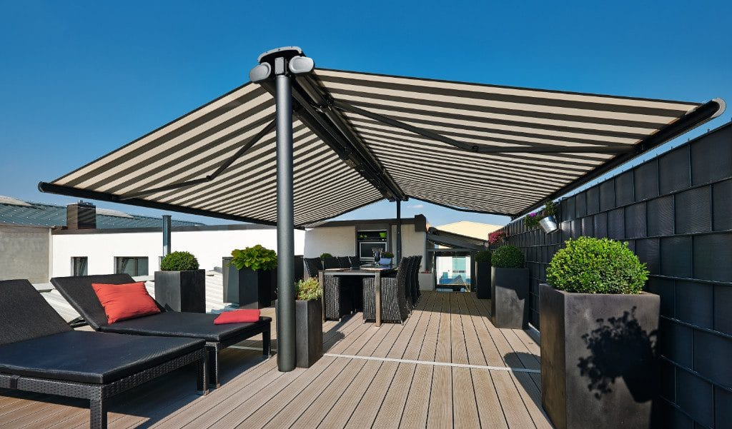 Markilux Syncra 2 Fix on Roof Terrace