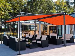 Markilux Syncra Awning Covering Large Area