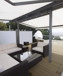Markilux Syncra Awning in Outdoor Living Space