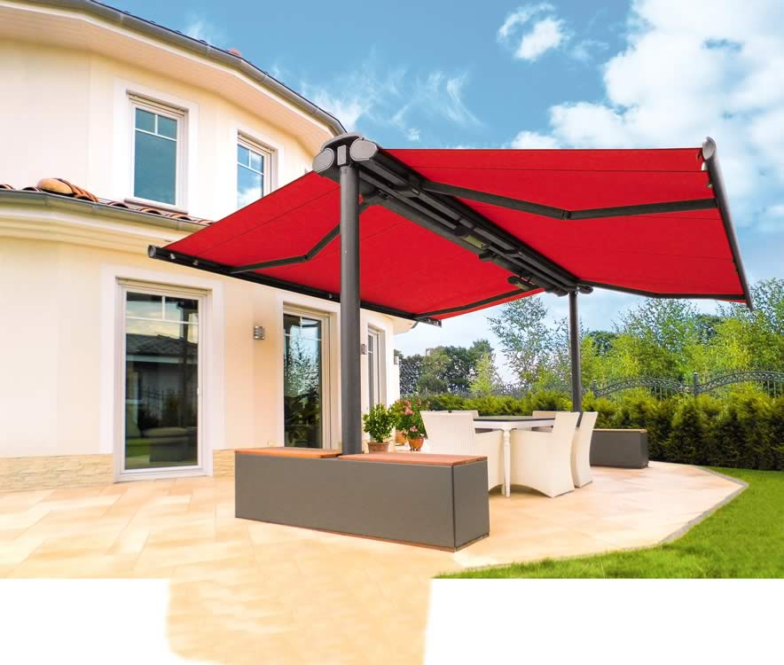 Captivating Markilux Syncra Flex Garden Awning