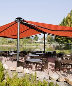 Markilux Syncra 2 - Folding Arm Freestanding Awning