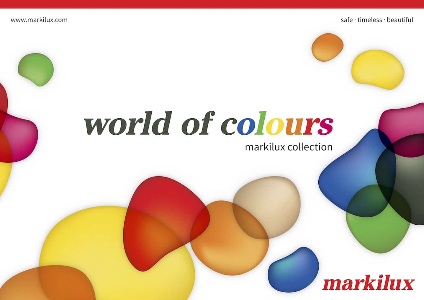Markilux World of Colours Awning Fabric Brochure Cover
