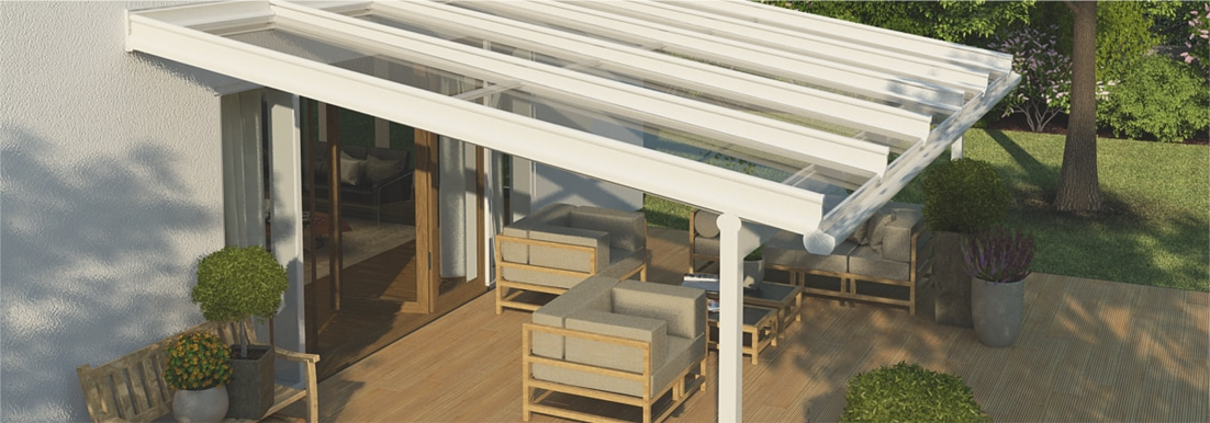 Terrazza Glass Roof Veranda for Patios